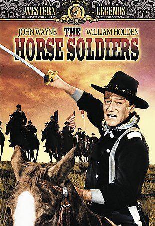 The Horse Soldiers (DVD, 2001) John Wayne-William Holden