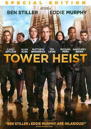 Tower Heist (DVD, 2012, Special Edition, Widescreen) Ben Stiller, Ed