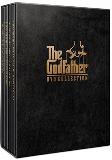 The Godfather Collection (DVD, 2001, 5-Disc Set REGION 1)