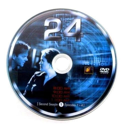 USED- 24 Second Season Dvd disc 1 ONLY