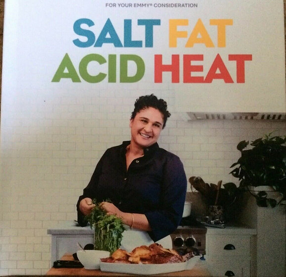 2 FYC 2019 SALT FAT ACID HEAT Documentary and Nailed It DVD NETFLIX