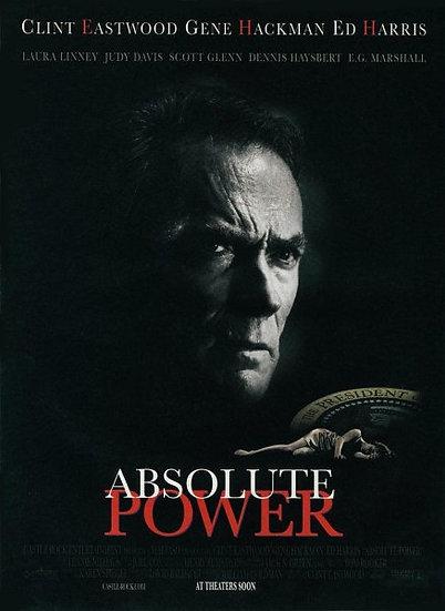 ABSOLUTE POWER (DVD 1997)  Clint Eastwood/Gene Hackman/Ed Harris