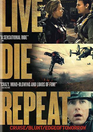 Live Die Repeat: Edge of Tomorrow (DVD+UltraViolet) DVD 2014, Franz Drameh, Jona
