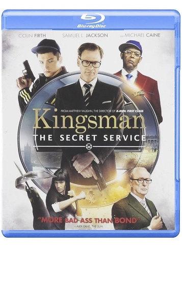 USED-Kingsman: The Secret Service (Blu-ray Disc, 2015)  Colin Firth/Samuel L. Ja