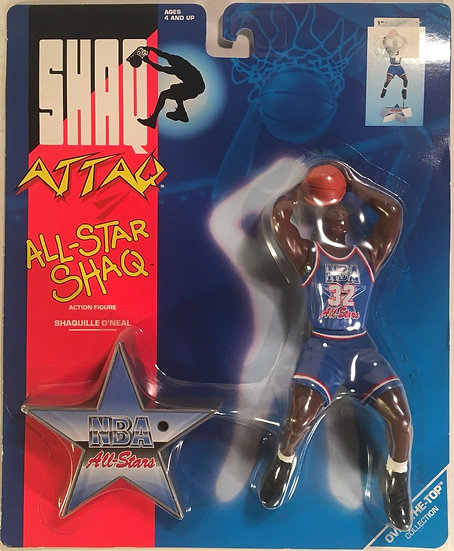NEW Shaq Attaq All Star Shaq Shaquille O'Neal Action Figure 1993