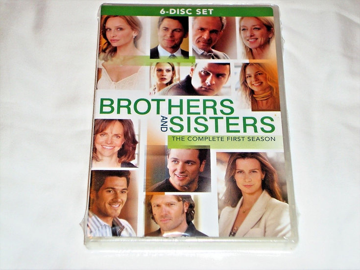 Brothers And Sisters Complete First Season (DVD-6 disc set)