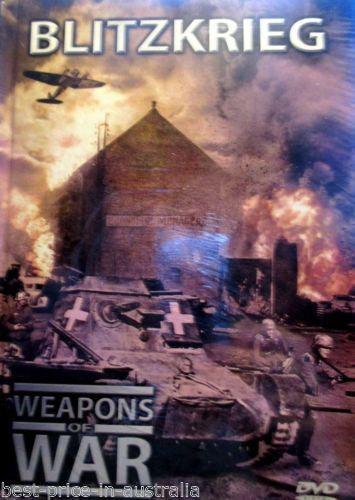 Weapons of War: Blitzkrieg DVD+BOOK Volume #1