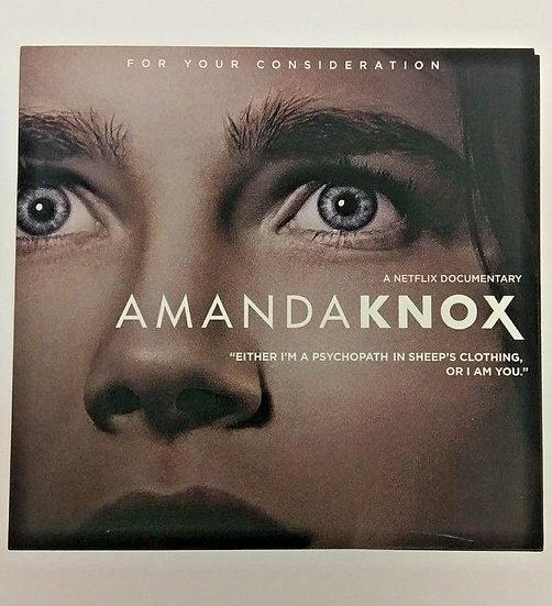 FYC 2017 AMANDA KNOX Emmy DVD Netflix documentary FYC 2017 RARE