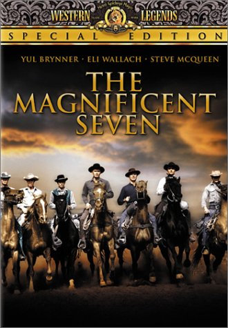 The Magnificent Seven 1960 (DVD) Special Edition Yul Brynner/Eli Wallach/Steve