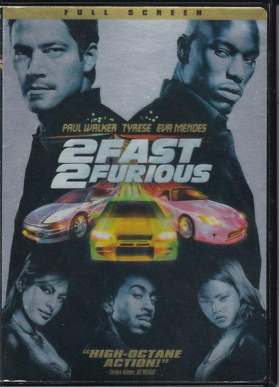 of 2 FAST 2 FURIOUS High Octane Action (DVD Widescreen)  Paul Walker/Tyrese