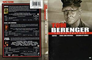 Tom Berenger-Triple Play: Sniper/Cruel and Unusual/Shadow of Doubt (DVD 2008)
