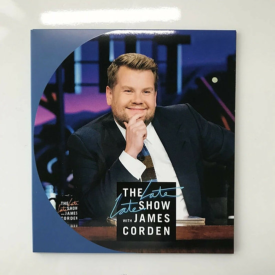 FYC 2018 The Late Late Show James Cordon ,CBS FYC Emmy DVD For Your Consid
