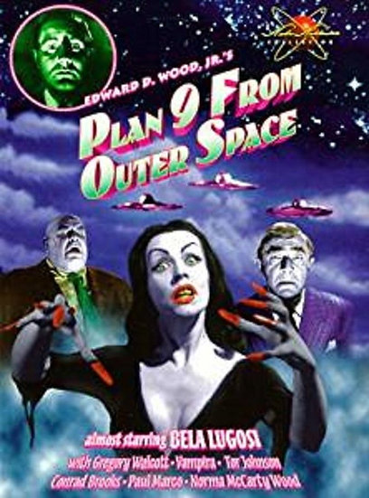 USED Plan 9 From Outer Space (DVD 2000 Black & White)  Bela Lugosi/G