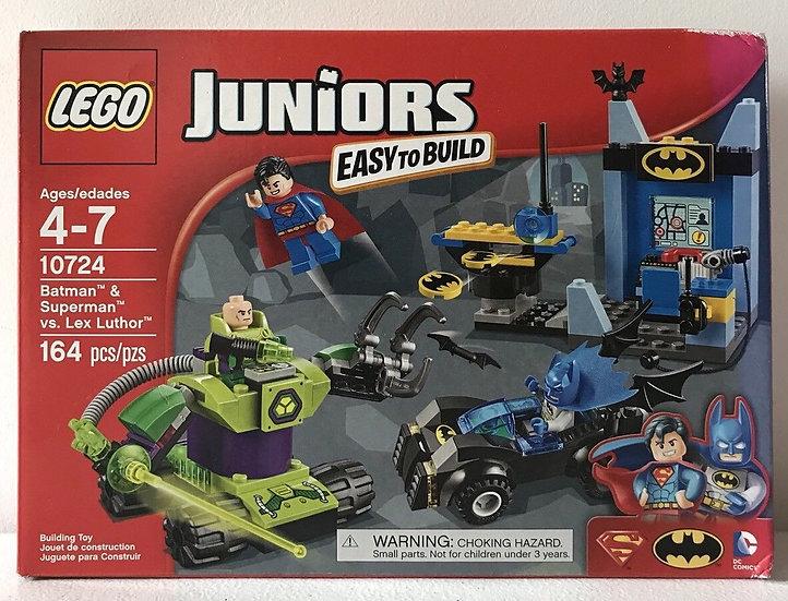 NIB LEGO Juniors Super Heroes Batman Superman vs. Lex Luthor 10724