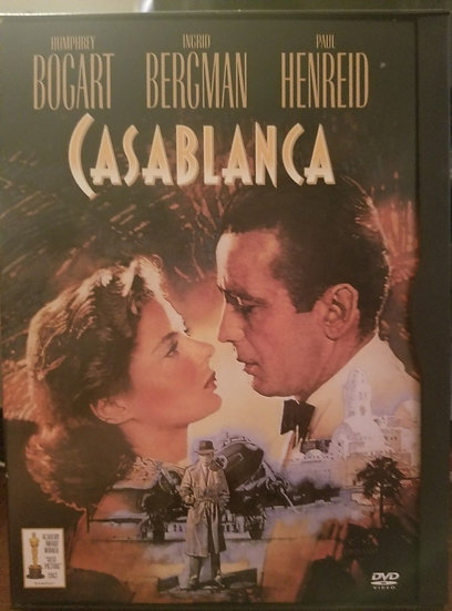 Casablanca (DVD 1999) 1943-Humphrey Bogart, Ingrid Bergman