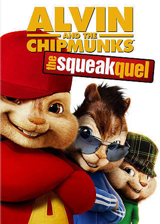 Alvin and the Chipmunks: the squeakquel (DVD, 2009 Widescreen)