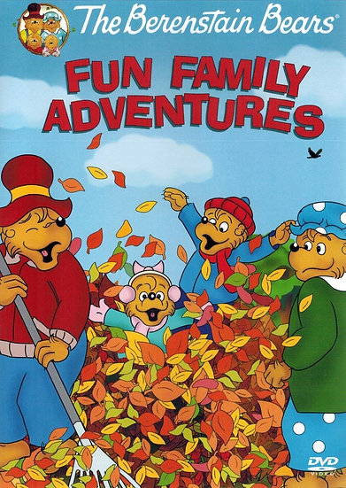 The Berenstain Bears Fun Family Adventures (DVD 2008)