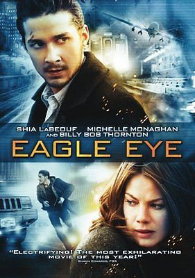Eagle Eye (DVD 2008 Widescreen Region 1) Shia Labeouf/Michael Monaghan and Billy