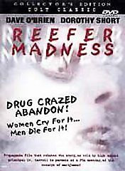 USED-REEFER MADNESS Colllector's Edition Cult Classic  Dave O'brien Doro