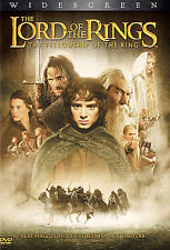 The Lord of the Rings The Fellowship of the Ring  (DVD 2002 2 disc set Widescree
