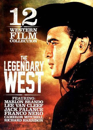 12 Western Film Collection The Legendary West DVD 3-Disc Set-12 movies