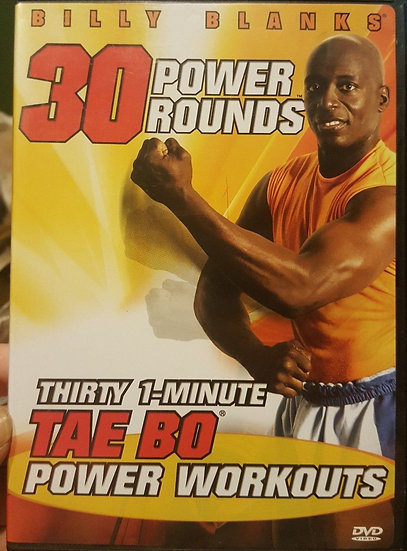 Billy Blanks – 30 Power Rounds/30 1 minute TAE BO Power workouts (DVD 20