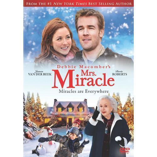NEW Mrs. Miracle, New (DVD 2010) James Van Der Beek, Erin Karpluk, Doris Rob