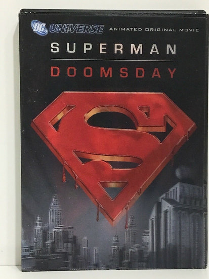 Superman Doomsday (DVD) DC Universe Animated Original Movie with Slipcover