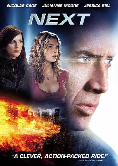 Next (DVD 2007 Region 1) 1995  Nicolas Cage, Julianne Moore, Jessica Bie