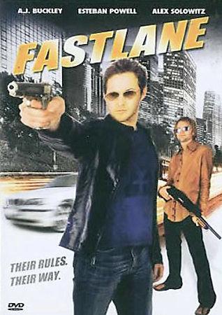 Fastlane (DVD, 2007) AJ Buckley/Espeban Powell/Alex Solowitz