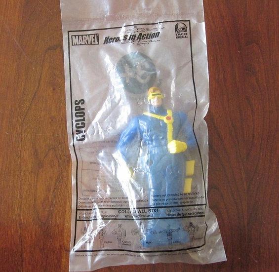 NEW Cyclops Marvel Heros in Action Taco Bell