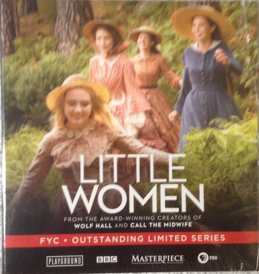 2 FYC 2018  Little Women and the child in time DVD