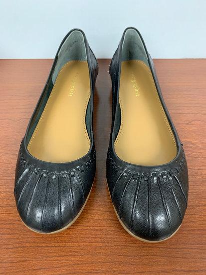 Easy Spirit Jitney Black Leather Size 6.5W