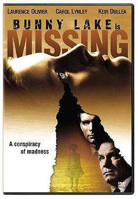 Bunny Lake is Missing 1965 (DVD 2005) black and white-unrated  Language: English