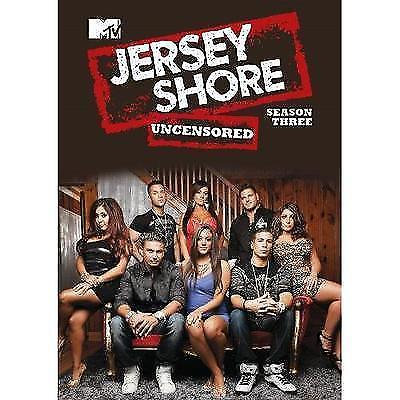 MTV Jersey Shore Uncensored Season 3 DVD