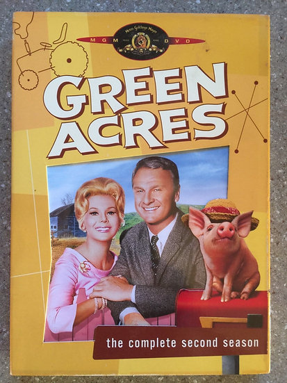 USED:  Green Acres - The Complete Second Season (DVD, 2005)