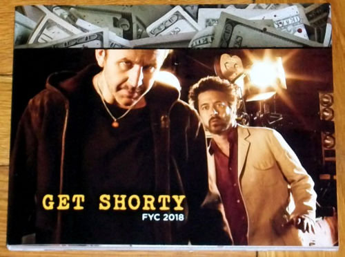 FYC 2018 GET SHORTY-Season 1-For Your Emmy Consideration (DVD-3 disc)