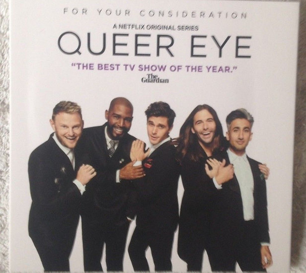 2 Netflix FYC 2018 Queer Eye/Worm Wood DVD For Your Emmy Con
