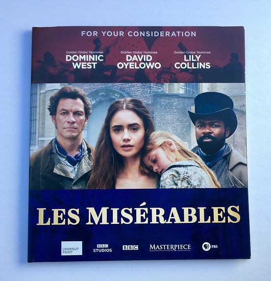 2 FYC 2019 LES MISERABLES and KILLYNG EVE BBC Pressbook EMMY