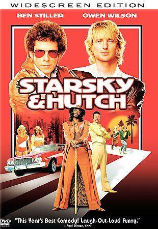 Starsky Hutch (DVD, 2004, Widescreen) Ben Stiller Owen Wilson Snoop Dogg