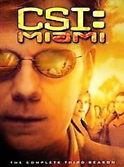 CSI: Miami - The Complete Third Season (DVD, 2005, 7-Disc Set)