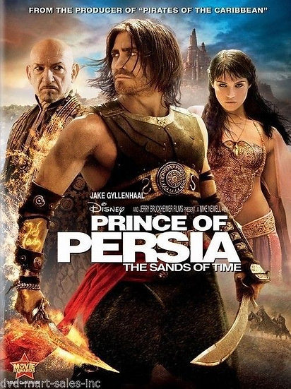 Prince of Persia: The Sands of Time (DVD, 2010 widescreen)