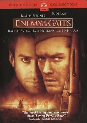 Enemy at the Gates (DVD, 2001 Region 1) Widescreen Collection Ed Harris,