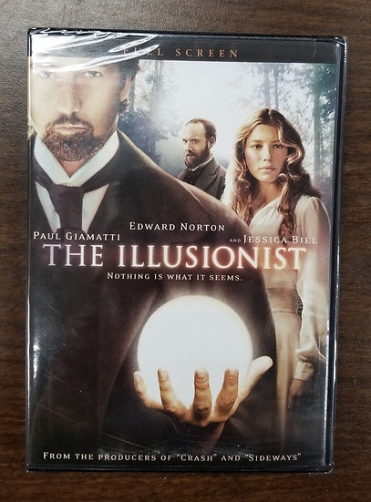 The Illusionist (DVD 2006) Edward Norton Jessica Biel Paul Giamatti
