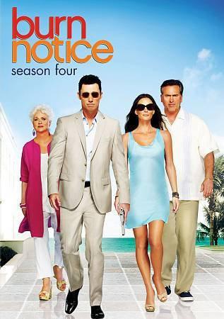 USED-Burn Notice: Season Four (DVD)