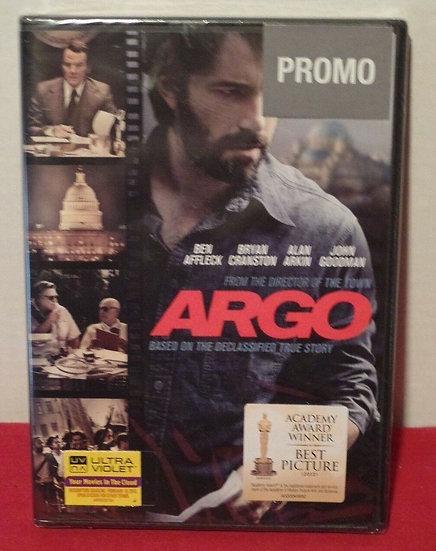 NEW Argo-PROMO (DVD 2012) Ben Affleck, Bryan Cranston; Academy Award Winner Best