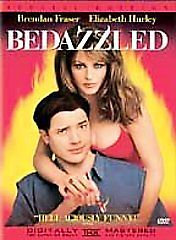 USED-Bedazzled (DVD, 2001, Special Edition ) Brendan Fraser, Elizabeth Hurley