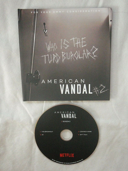 2 FYC 2019 AMERICAN VANDAL: Who is the Turd Burglar? & THE O/\  PART 1 DVD