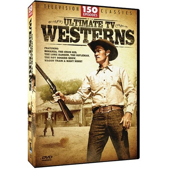 Television Classics ULTIMATE TV WESTERNS (DVD 12-Disc 150 Episodes)