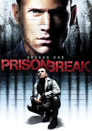 USED-Prison Break Season 1 (DVD, 2009, 6-Disc Set)